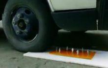 مبتکر جوان کرمانی لاستیک ضد پنچری را تولید کرد