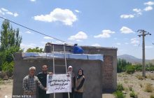 خانه سازی برای روستاییان منطقه چهارطاق بردسیر